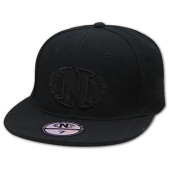 Dark n Cold Egg Logo Fitted Baseball Cap Black