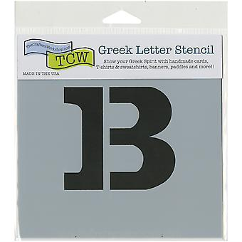 Crafter's Workshop Greek Letters 4