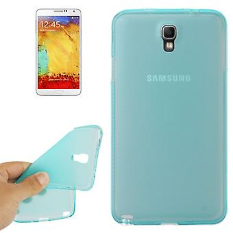 TPU case cover voor de Samsung Galaxy touch 3 neo N7505 transparant blauw