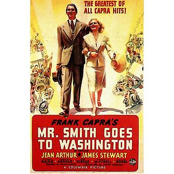 Frank Capras Mr Smith Goes to Washington Movie Poster (11 x 17)