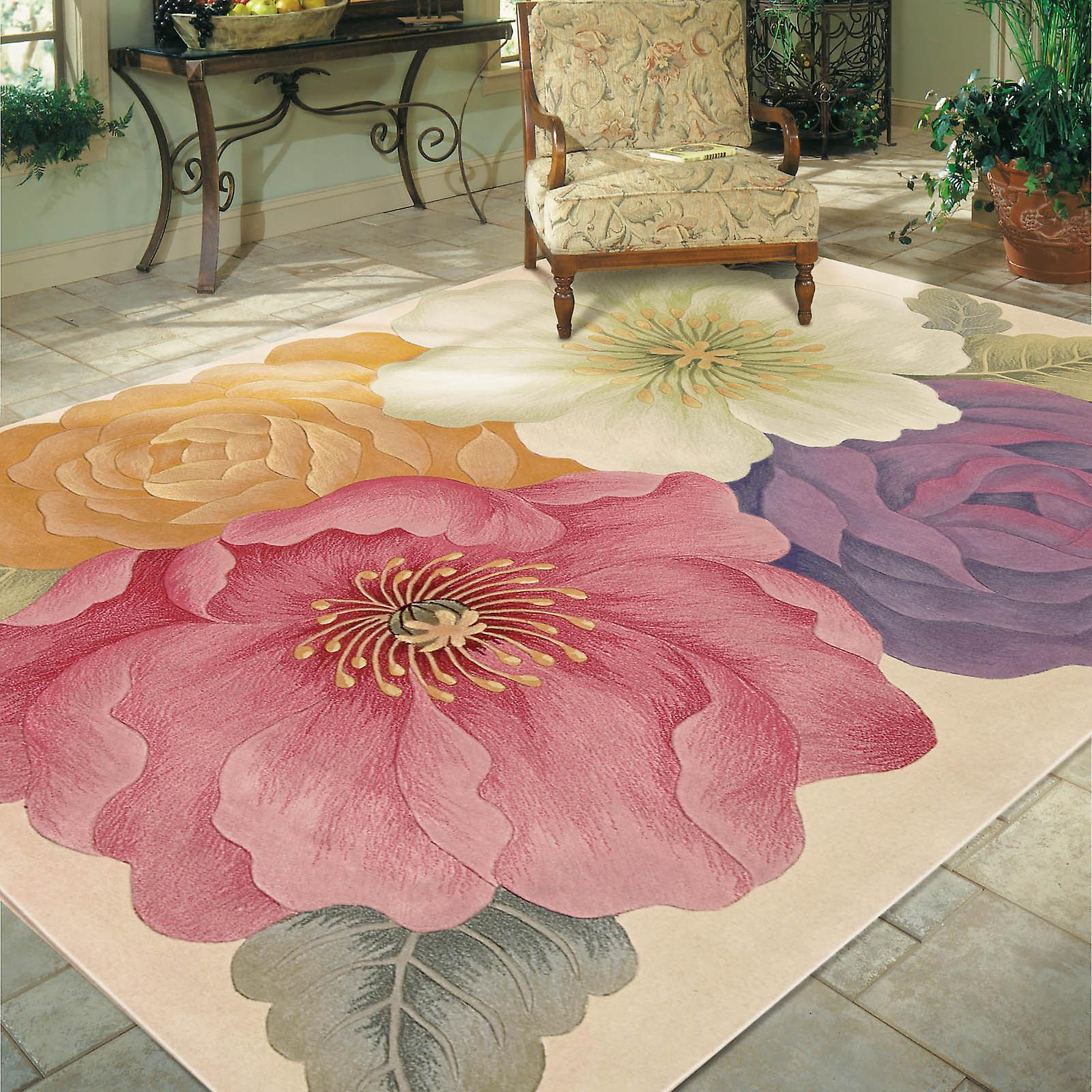 Nourison Tropics Rugs Ts10 Multi Coloured