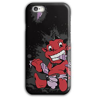 Crazy Red Devil helvetet kul Demon iPhone Case 5/5S 6/6S 6Plus/6SPlus | Wellcoda