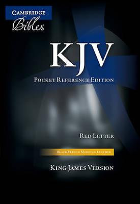 KJV Pocket Reference Edition KJ243XRZ noir French Morcco cuir with Zip Fastener