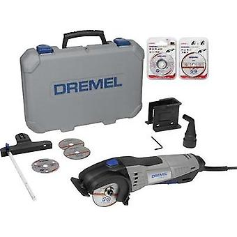 Mini circular saw incl. accessories, incl. case 12-piece 710 W Dremel DSM20/3-8