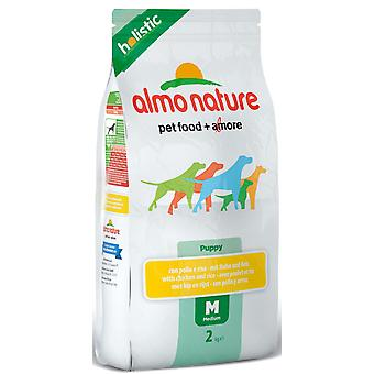 Almo Nature Holistic Dog Medium Puppy Chicken & Rice 2kg