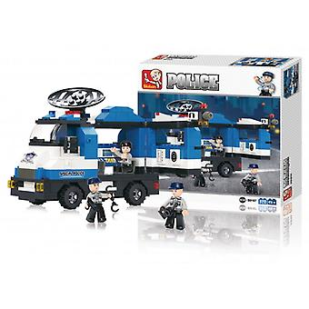 Sluban Building Blocks Police Series Mobile Police Post