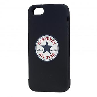 CONVERSE Shell Silicone iPhone 5/5s/SE Black