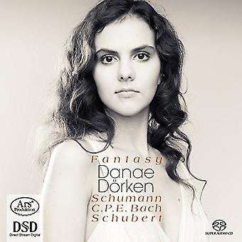 Schumann / Bach / Schubert - fantasía [SACD] USA import