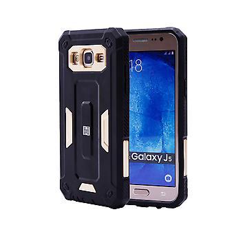 32. schwer Defender Case für Samsung Galaxy J5 (2015) - Gold