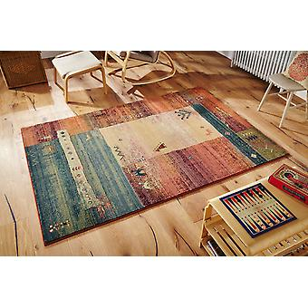 Gabbeh 217X Multicoloured Runner Rugs Traditional Rugs
