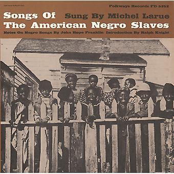 Michel Larue - chansons de l'importation d'esclaves noirs américains [CD] é.-u.