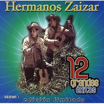 Hermanos Zaizar - Hermanos Zaizar: Vol. 1-12 Grandes Exitos [CD] USA import