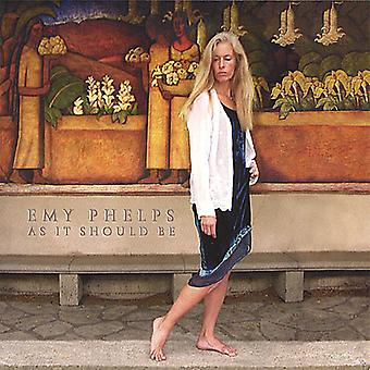 Emy Phelps - As It Should Be [CD] USA import