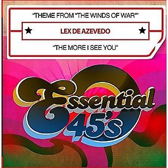 Lex De Azevedo - tema fra den vind af krig / de mere jeg se dig [CD] USA import