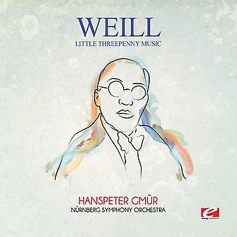 Weill - Little Threepenny Music [CD] USA import