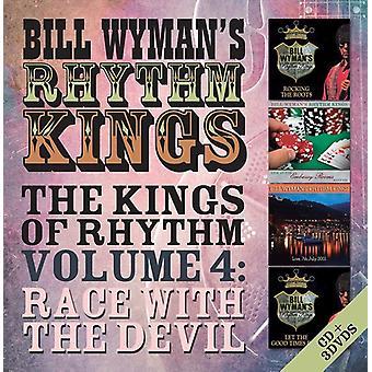 Wyman, Bill / Rhythm Kings - Kings of Rhythm Volume 4: Race with the Devil [CD] USA import