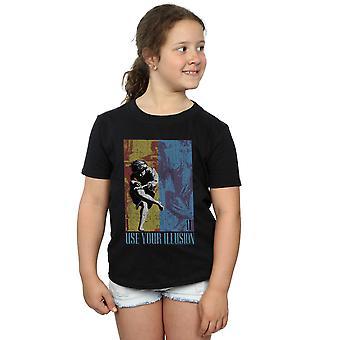 Guns N Roses chicas doble camiseta de ilusión