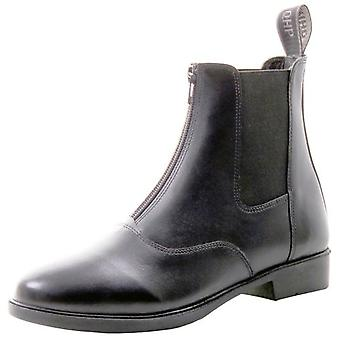 QHP Jodhpur Black Handle Ankle Boot (Horses , Rider equipment , Clothes , Boots)