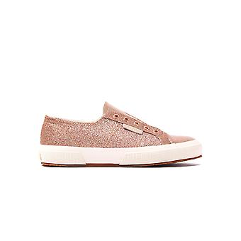 Women's 2750 Microglitter Trainers - Rose Gold