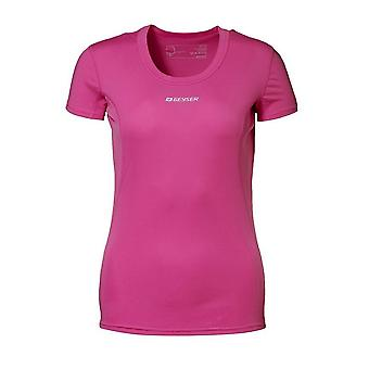 ID Womens/Ladies Active Short Sleeve Fitted Sport T-Shirt