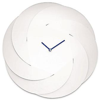 Alessi White Infinity Wall Clock