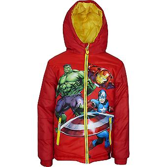 Boys DHQ1400 Marvel Avengers Winter Hooded Jacket