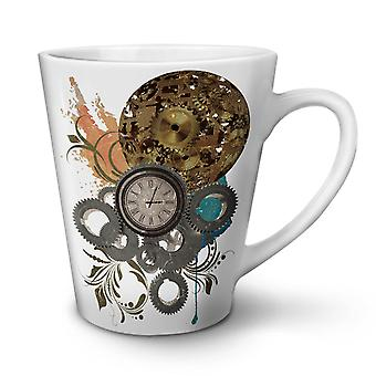 Clock Cool Print NEW White Tea Coffee Ceramic Latte Mug 17 oz | Wellcoda