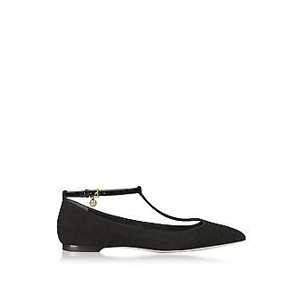 Tory Burch women's 42968009 black leather of ballerinas
