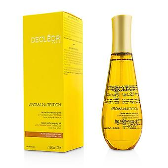 Decleor Aroma Nutrition Satin Softening Dry Oil For Body Face & Hair - For Normal To Dry Skin - 100ml/3.3oz