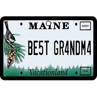 Maine - beste oma License Plate auto luchtverfrisser