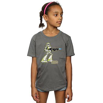 Star Wars Girls Stormtrooper Character T-Shirt