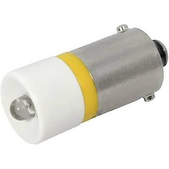 LED bulb BA9s Yellow 12 Vdc 700 mcd CML