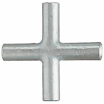 Cross connector 6 mm² Not insulated Metal
