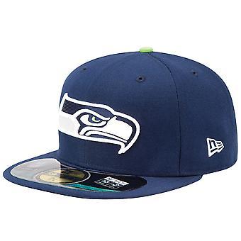 New Era Cap - NFL ON FIELD Seattle Seahawks navy