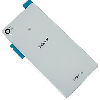 Para la batería de Sony Xperia Z5 cubierta-espalda-blanco calidad original
