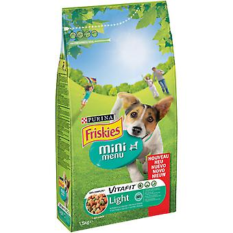 Friskies Pienso Dog  Mini Menu Light Pollo y Verduras