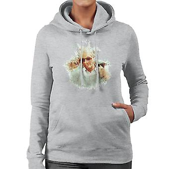 Paul Newman At Cannes Film Festival 1987 Women's Hooded Sweatshirt