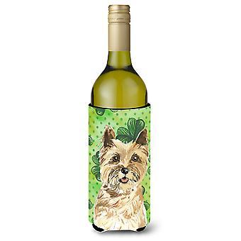 Shamrocks Cairn Terrier Wine Bottle Beverge Insulator Hugger