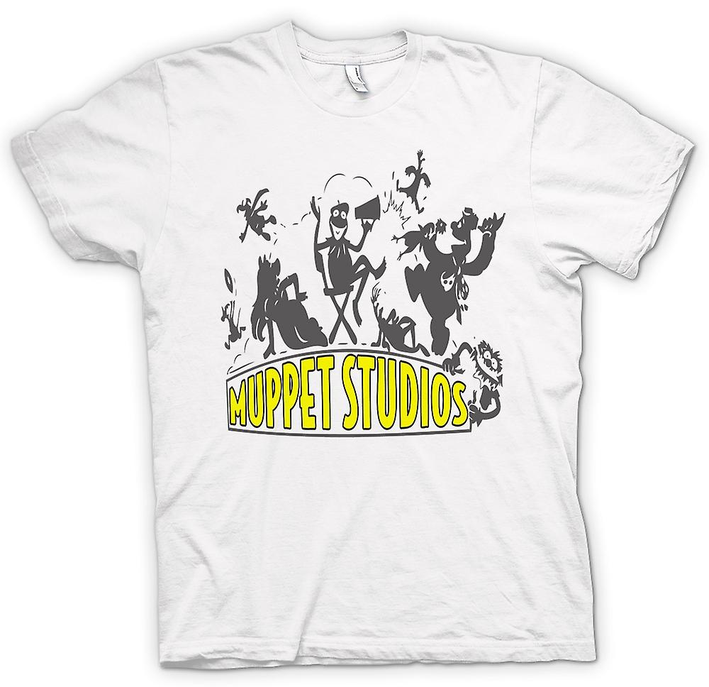 Heren T-shirt-Muppet Studios - Kermit - Funny