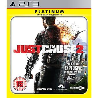 Just Cause 2 - platin (PS3)