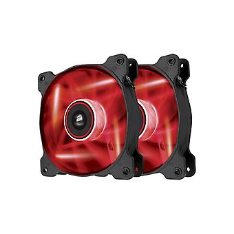The Corsair Fan, SP120, Red LED High Pressure Fan, Dual pack