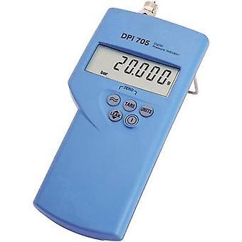 Manómetro presión aire DPI705-20bar-R GE Sensing 0 - 20 de la barra interna de acero inoxidable sensor calibrado a los estándares de ISO