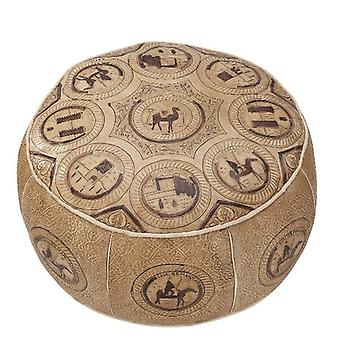 Seat cushion Pouffe leather cushion ORIENT Oriental pillow 420 leather