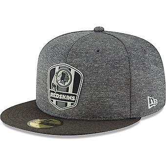 New era 59Fifty Cap - Black sideline Washington Redskins