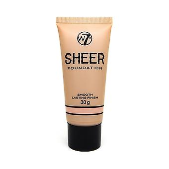 W7 Cosmetics pure Foundation 30g