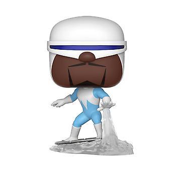 Disney The Incredibles 2 Pop! Vinyl Figur 368 Frozone aus Kunststoff, von Funko, in Geschenkbox.