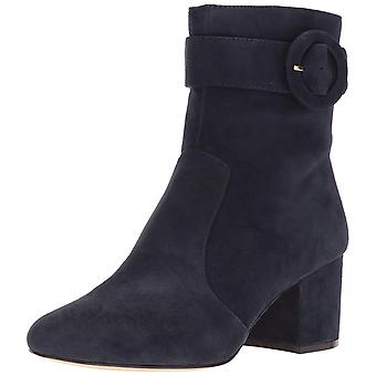 Nine West Womens Quilby Leather Almond Toe Ankle Fashion Boots
