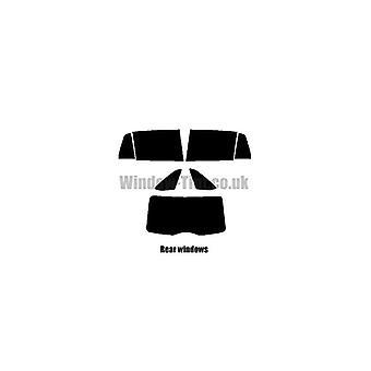 Pré coupé vitres teintées - Skoda Spaceback rapide - 2013 et plus récente - vitre arrière dirigée