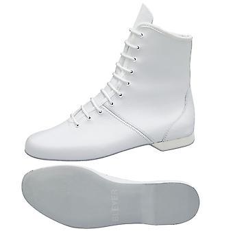 recubrimiento protector blanco botas / M1 botas cuero juego de pelota / talón de goma