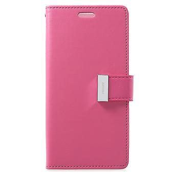 Mercure GOOSPERY Rich Diary à Samsung Galaxy S9-Rose